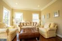 Formal living room - 42422 CHAMOIS CT, STERLING