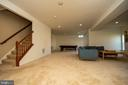 Basement - finished rec room - 42422 CHAMOIS CT, STERLING