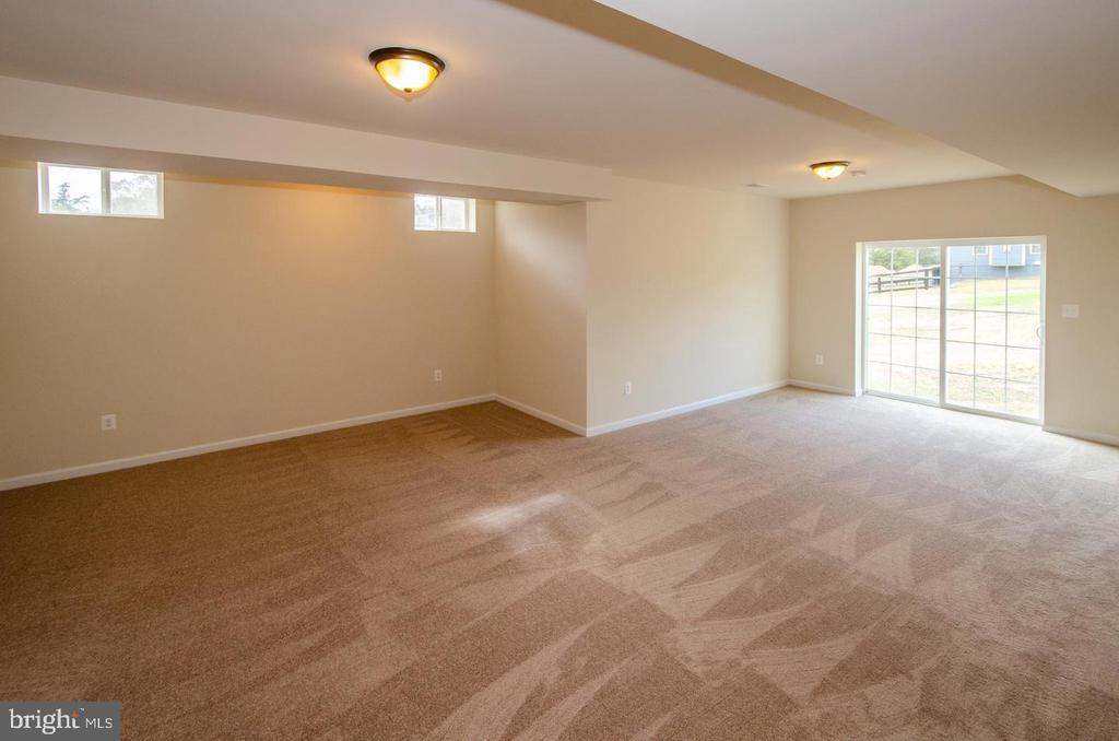 EXAMPLE OF FINISHED REC ROOM - 5 JACOBS HILL COURT, LEESBURG