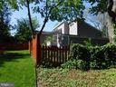 Fence line along backyard - 1127 SHORT ST, ANNAPOLIS