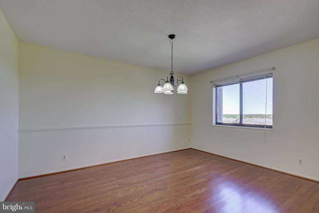 Dining Room - Also with New Hardwood Floors! - 5901 MOUNT EAGLE DR #1115, ALEXANDRIA