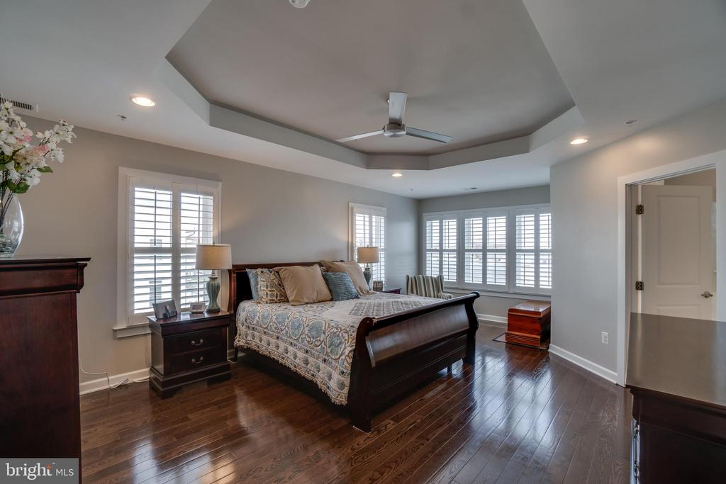 Spacious Master suite with tray ceiling - 20668 DUXBURY TER, ASHBURN