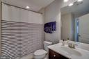Full bath in the lower level - 20668 DUXBURY TER, ASHBURN