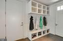 Mud Room opens to the front and back of the house - 3717 27TH ST N, ARLINGTON