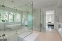 Frameless glass enclosures protect the views - 3717 27TH ST N, ARLINGTON