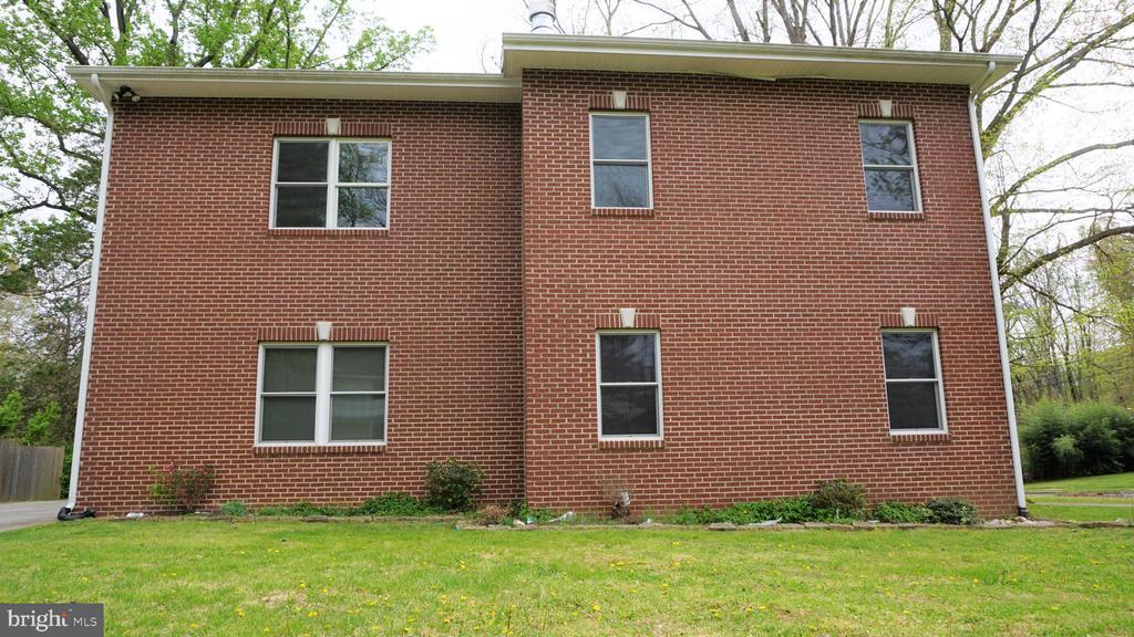 Exterior Left Side - 7301 BRAD ST, FALLS CHURCH