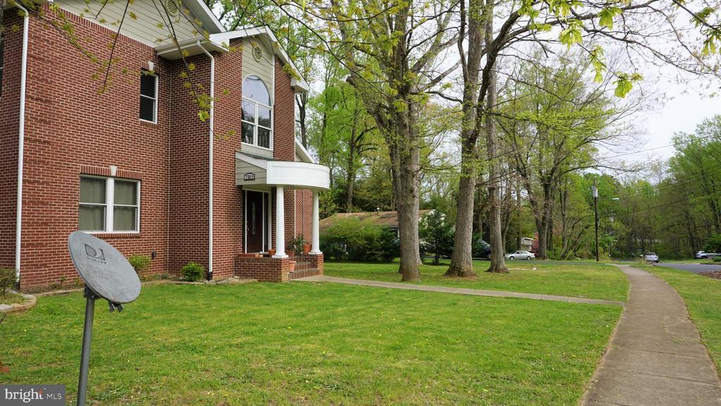Exterior Front View - 7301 BRAD ST, FALLS CHURCH