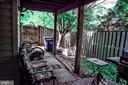 Exterior Backyard - 43074 SHERBROOKE TER, LEESBURG