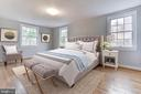 Master Bedroom with Virtual Staging Example - 5135 34TH ST NW, WASHINGTON