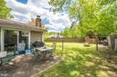 Backyard patio - 2318 PINEFIELD RD, WALDORF