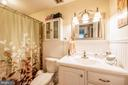 Hall bathroom - 2318 PINEFIELD RD, WALDORF