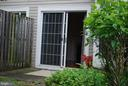 Secluded Patio - 19928 DUNSTABLE CIR #204, GERMANTOWN
