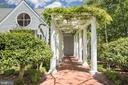 The perfect pergola, wisteria almost blooming - 6 LOUDEN LN, ANNAPOLIS