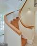 Lovely , curved staircase to  the 2nd floor - 6 LOUDEN LN, ANNAPOLIS