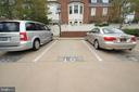 2 deeded parking spaces both labeled with #10. - 808 CAMERON ST, ALEXANDRIA