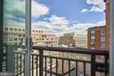 View From Master Bedroom - 2050 JAMIESON AVE #1103, ALEXANDRIA