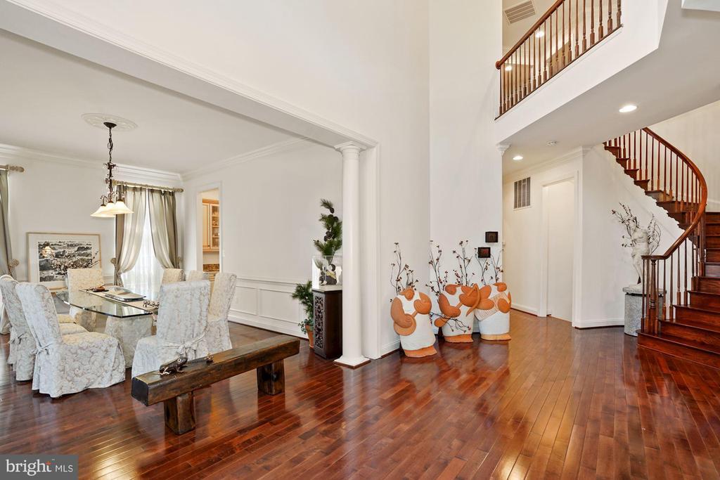 Brazilian cherry hardwood Flooring - 2976 TROUSSEAU LN, OAKTON