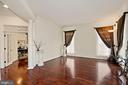 Columned Living Room - 2976 TROUSSEAU LN, OAKTON
