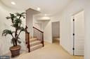 Berber Carpeting and Recessed lighting to LL - 2976 TROUSSEAU LN, OAKTON