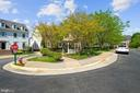 Street view with additional parking space - 2976 TROUSSEAU LN, OAKTON