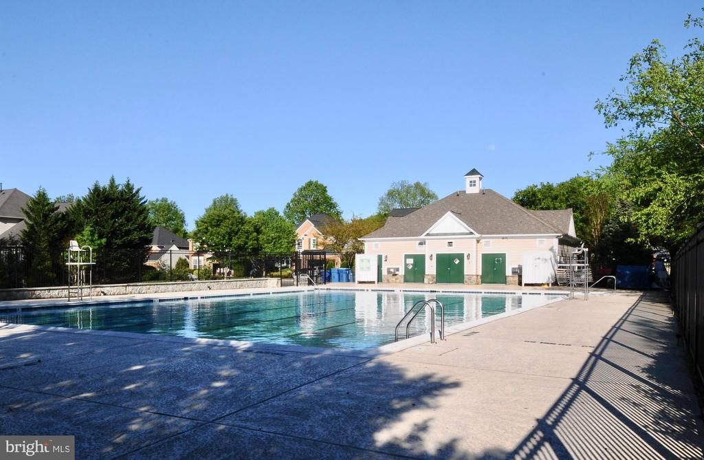 COMMUNITY POOL WITH SWIM TEAM - 47320 MIDDLE BLUFF PL, STERLING