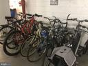 Garage Bike Storage - 1300 CRYSTAL DR #PH14S, ARLINGTON