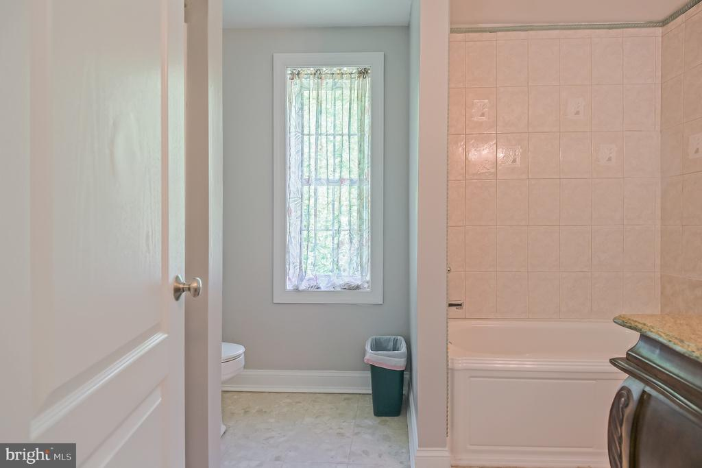 Main level gues suite with full bathroom - 152 OLD CROPPS MILL RD, FREDERICKSBURG