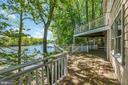Multiple decks overlooking the water - 104 FOGLE DR, ANNAPOLIS
