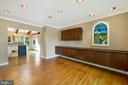 Formal dining room has built-in cabinets - 104 FOGLE DR, ANNAPOLIS
