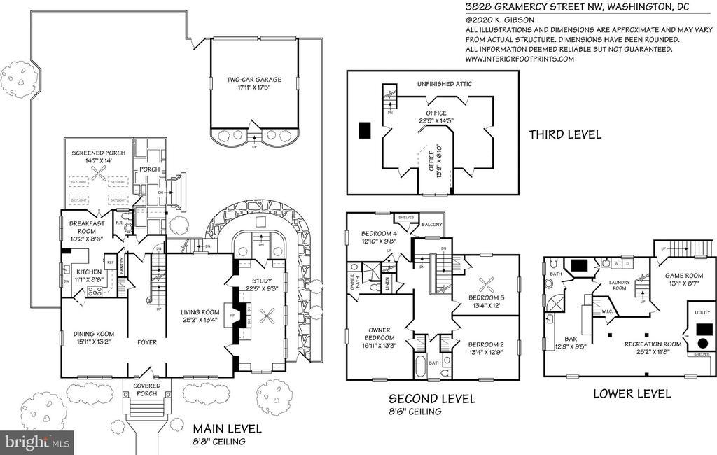Floor Plan - 3828 GRAMERCY ST NW, WASHINGTON