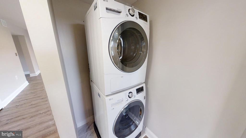 Laundry High Efficiency Front Loading - 2646 BIRNEY PLACE SE SE #201, WASHINGTON