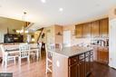 Massive Kitchen Area - 122 BEDROCK DR, WALKERSVILLE