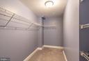 Bedroom #4 walk-in closet - 27531 PADDOCK TRAIL PL, CHANTILLY