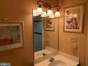 Powder Room - 8307 KINGS RIDGE CT, SPRINGFIELD