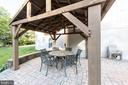 Great patio for entertaining - 27531 PADDOCK TRAIL PL, CHANTILLY