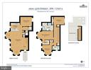 Floor plans for Master Home (Unit #2) - 1600 15TH ST NW, WASHINGTON