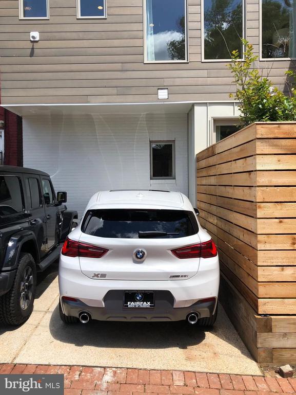 Off street parking for one car. - 1015 D ST NE #B, WASHINGTON