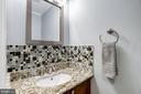 Half Bathroom - Located on Main Level - Beautiful - 1145 N UTAH ST #1145, ARLINGTON