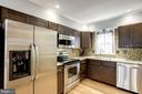 Kitchen - Beautiful Modern Shaker Wood Cabinetry - 1145 N UTAH ST #1145, ARLINGTON