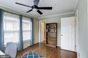 Master Bedroom #2 - Hardwood Floors - 1145 N UTAH ST #1145, ARLINGTON
