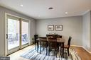 Dining Room - Can EASILY Seat 8-12 Guests! - 1145 N UTAH ST #1145, ARLINGTON