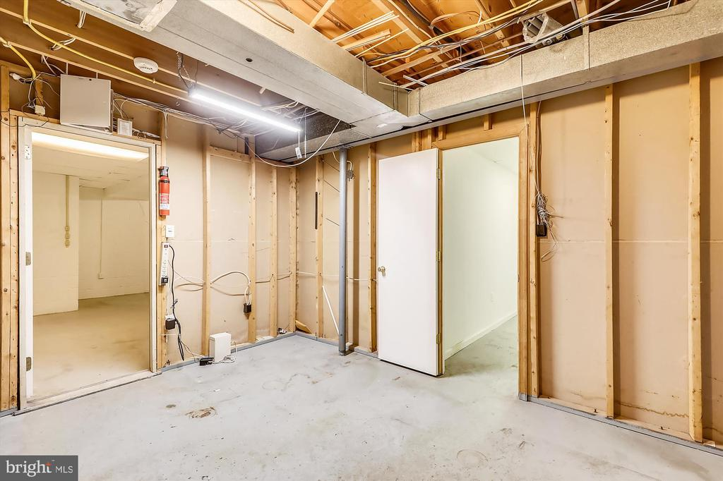 2nd Lower Level Utility/Storage - 6604 PERSIMMON TREE RD, BETHESDA