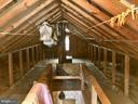 Large walkup floored attic will suited for storage - 2211 LAFAYETTE BLVD, FREDERICKSBURG