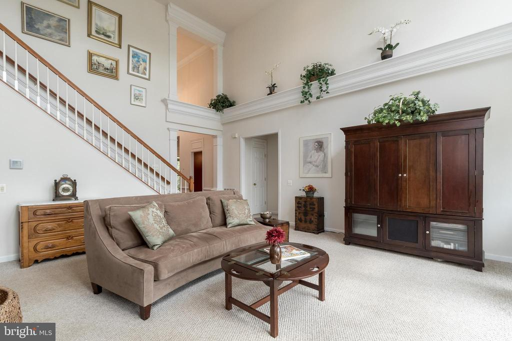 Main Level Family Room - 43777 PARAMOUNT PL, CHANTILLY