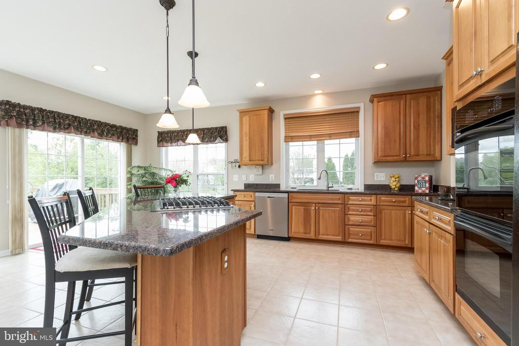 Gourmet Kitchen w/Double Wall Ovens - 43777 PARAMOUNT PL, CHANTILLY