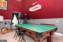 Enough space to hold a pool table - 9600 TERRI DR, LA PLATA
