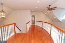 Second floor balcony at top of stairs - 9600 TERRI DR, LA PLATA