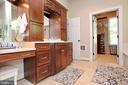 Separate vanity area next to sink - 9600 TERRI DR, LA PLATA