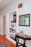 Built in shelving off great room - 9600 TERRI DR, LA PLATA