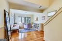 Home Office on Second Level Leading to Master Suit - 8 KING CHARLES PL, ANNAPOLIS